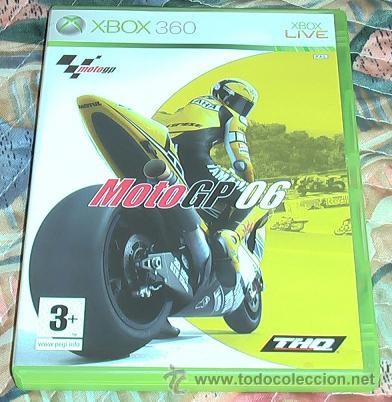 JUEGO XBOX 360. MOTOGP 2006. (Juguetes - Videojuegos y Consolas - Microsoft - Xbox 360)
