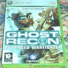 Videojuegos y Consolas: JUEGO XBOX 360. GHOST RECON ADVANCED WARFIGHTER. . Lote 41665169