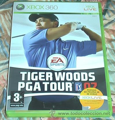 JUEGO XBOX 360. TIGER WOODS PGA TOUR 2007. (Juguetes - Videojuegos y Consolas - Microsoft - Xbox 360)