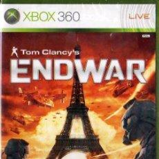 Videojuegos y Consolas: TOM CLANCY'S ENDWAR - XBOX 360 PAL ESPAÑA ***NUEVO PRECINTADO***. Lote 41804296