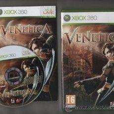Videojuegos y Consolas: JUEGO XBOX 360 VENETICA. Lote 42444731