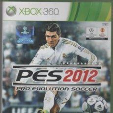 Videojuegos y Consolas: PES 2012 PRO EVOLUTION SOCCER XBOX360. Lote 42843361