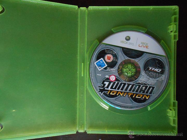 STUNTMAN IGNITION - XBOX 360 - SOLO DISCO Y CAJA (4K) (Juguetes - Videojuegos y Consolas - Microsoft - Xbox 360)