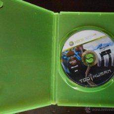 Videojuegos y Consolas: TOO HUMAN - XBOX 360 - SOLO DISCO Y CAJA (4K). Lote 42936331