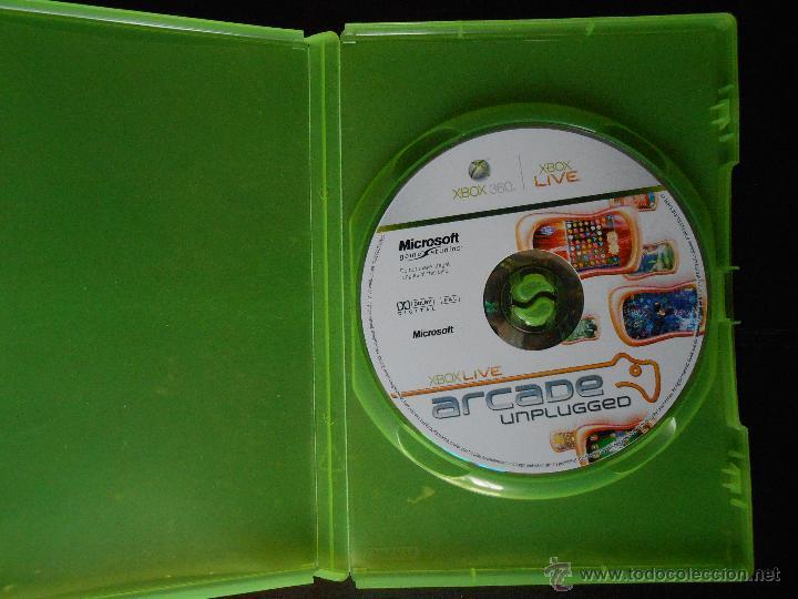 XBOX LIVE ARCADE UNPLUGGED - XBOX 360 - SOLO DISCO Y CAJA (4K) (Juguetes - Videojuegos y Consolas - Microsoft - Xbox 360)