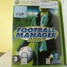 Videojuegos y Consolas: FOOTBALL MANAGER 2007 - XBOX 360 . Lote 136845313