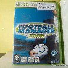 Videojuegos y Consolas: FOOTBALL MANAGER 2006 - XBOX 360. Lote 136845497
