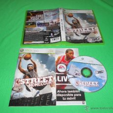 Videojuegos y Consolas: NBA STREET HOMECOURT - XBOX 360 - EA SPORTS BIG - PAL - CON MANUAL DE INSTRUCCIONES. Lote 43663313