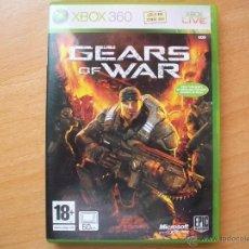 Videojuegos y Consolas: GEARS OF WAR - JUEGO X-BOX 360 - XBOX - X-BOX - LIVE - CASTELLANO + MANUAL. Lote 44385045