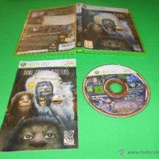 Videojuegos y Consolas: DONDE VIVEN LOS MONSTRUOS ( EL VIDEOJUEGO ) - XBOX 360 - WB GAMES - PAL - CON INSTRUCCIONES. Lote 45123178