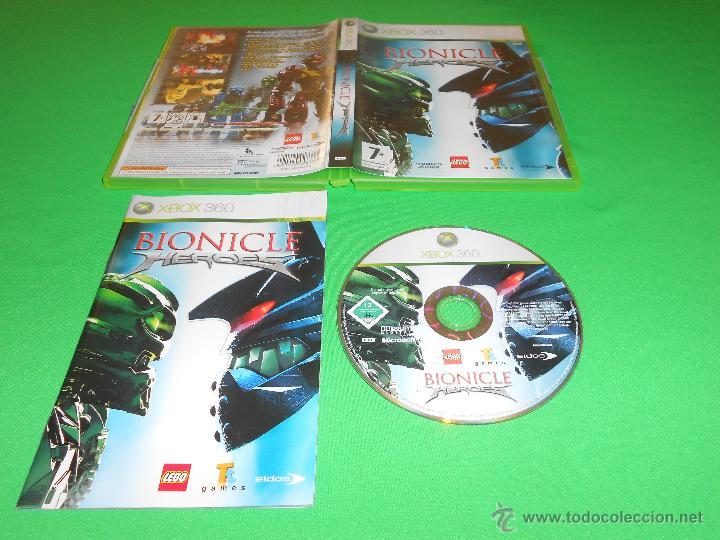 BIONICLE HEROES - XBOX 360 - PAL - CON INSTRUCCIONES - LEGO - EIDOS - TOTALMENTE EN CASTELLANO (Juguetes - Videojuegos y Consolas - Microsoft - Xbox 360)