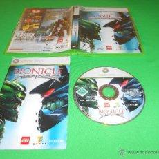 Videojuegos y Consolas: BIONICLE HEROES - XBOX 360 - PAL - CON INSTRUCCIONES - LEGO - EIDOS - TOTALMENTE EN CASTELLANO. Lote 45123216