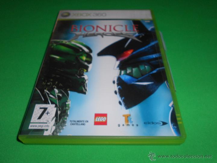 Videojuegos y Consolas: BIONICLE HEROES - XBOX 360 - PAL - CON INSTRUCCIONES - LEGO - EIDOS - TOTALMENTE EN CASTELLANO - Foto 2 - 45123216