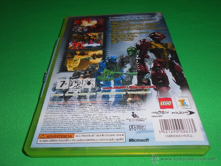 Videojuegos y Consolas: BIONICLE HEROES - XBOX 360 - PAL - CON INSTRUCCIONES - LEGO - EIDOS - TOTALMENTE EN CASTELLANO - Foto 3 - 45123216