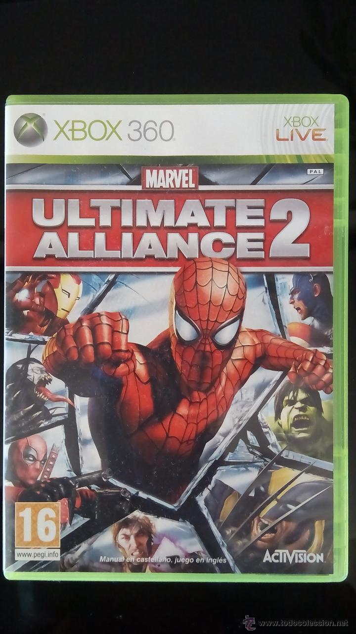 MARVEL ULTIMATE ALLIANCE 2 (Juguetes - Videojuegos y Consolas - Microsoft - Xbox 360)