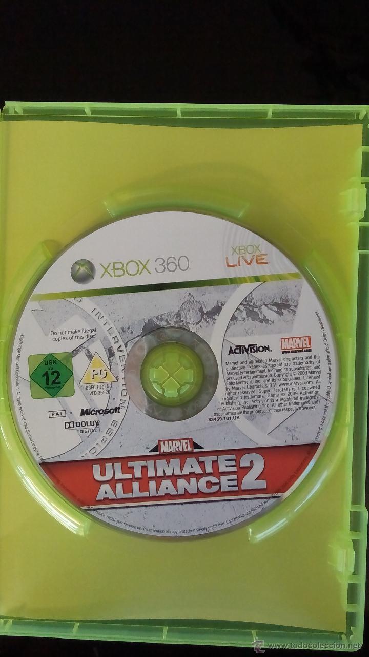 Videojuegos y Consolas: MARVEL ULTIMATE ALLIANCE 2 - Foto 2 - 53852640