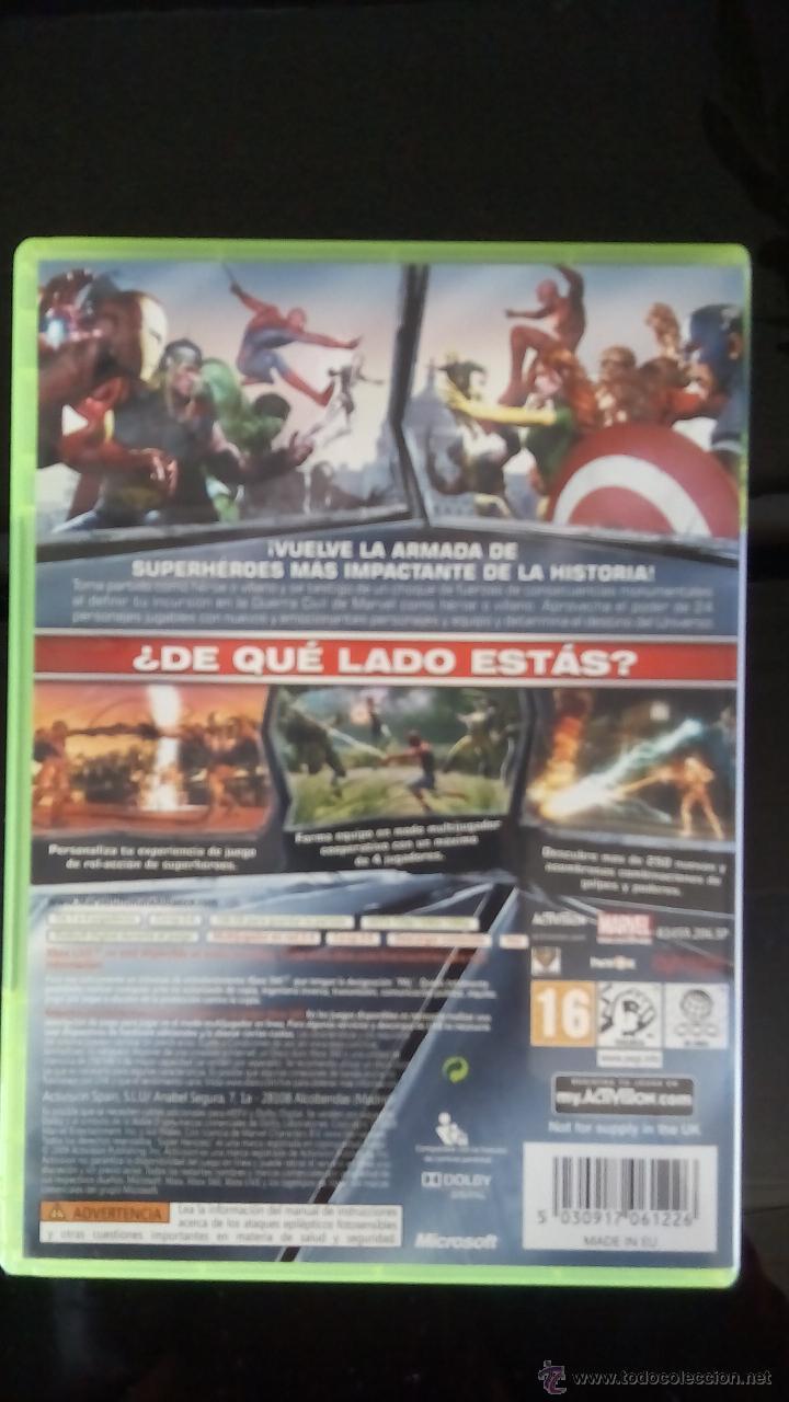 Videojuegos y Consolas: MARVEL ULTIMATE ALLIANCE 2 - Foto 3 - 53852640