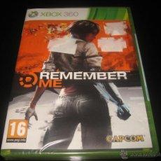 Videojuegos y Consolas: REMEMBER ME XBOX 360 PAL ESPAÑA PRECINTADO CAPCOM. Lote 46300930