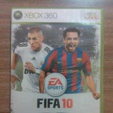 Videojuegos y Consolas: JUEGO FIFA 10 XBOX 360. Lote 46514681