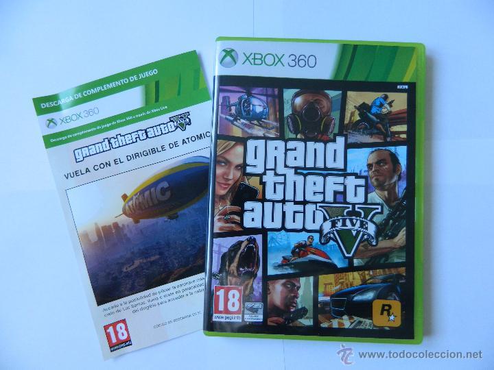 Grand Theft Auto 5 Gta 5 Para Xbox 360 Dos Di Comprar