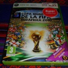 Videojuegos y Consolas: XBOX 360 COPA MUNDIAL DE LA FIFA SUDÁFRICA 2010 CON INSTRUCCIONES. . Lote 47358071