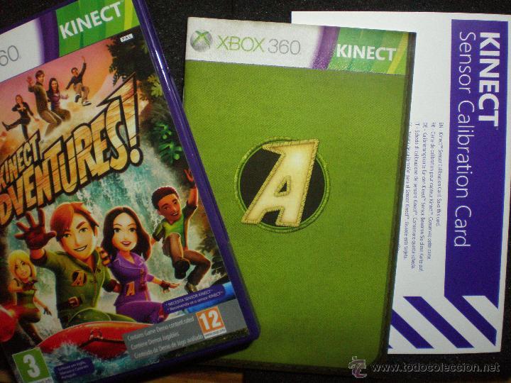 Juego Kinect Adventures Pal Espana Con Manua Comprar