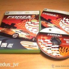 Videojuegos y Consolas: FORZA MOTORSPORT 2 JUEGO PARA XBOX 360 PAL ESPAÑA COMO NUEVO. Lote 48401220