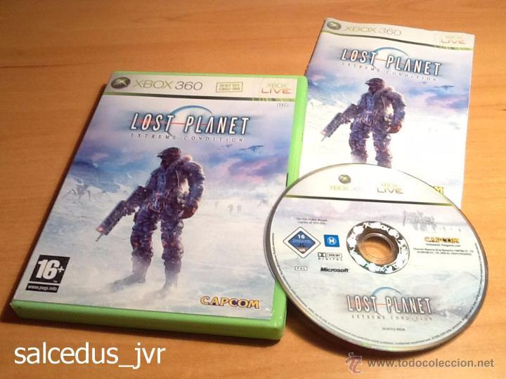 LOST PLANET EXTREME CONDITION JUEGO PARA XBOX 360 PAL COMPLETO EN ESPAÑOL Y EN MUY BUEN ESTADO (Juguetes - Videojuegos y Consolas - Microsoft - Xbox 360)