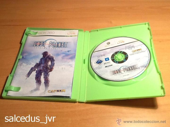 Videojuegos y Consolas: Lost Planet Extreme Condition juego para Xbox 360 PAL Completo en Español y en Muy Buen Estado - Foto 2 - 48473293