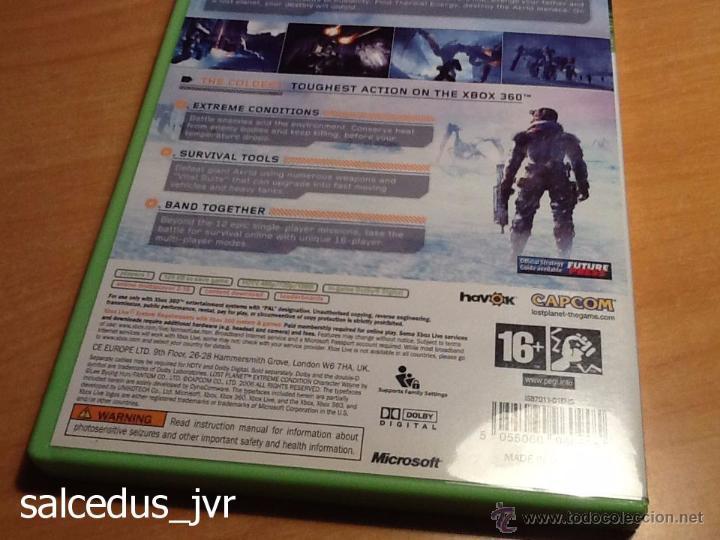 Videojuegos y Consolas: Lost Planet Extreme Condition juego para Xbox 360 PAL Completo en Español y en Muy Buen Estado - Foto 4 - 48473293