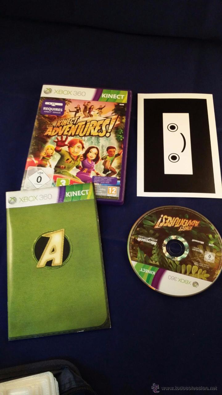JUEGO XBOX 360 - KINECT ADVENTURES (Juguetes - Videojuegos y Consolas - Microsoft - Xbox 360)