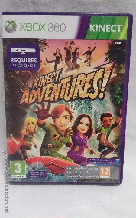 Xbox 360 Juego Kinect Adventures Comprar Videojuegos Y Consolas