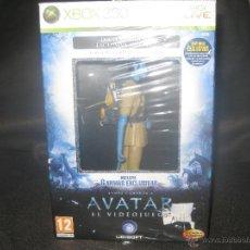 Videojuegos y Consolas: PACK EXCLUSIVO. JUEGO Y FIGURA DE AVATAR XBOX 360. Lote 49294771