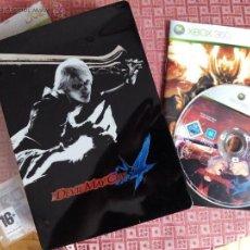 Videojuegos y Consolas: DEVIL MAY CRY 4 VERSION ESPECIAL CAJA METALICA XBOX 360 PAL UK TEXTOS ESPAÑOL. Lote 49353131