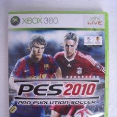 Videojuegos y Consolas: PRO EVOLUTION SOCCER 2010 - JUEGO XBOX360 DE FUTBOL. Lote 49837901