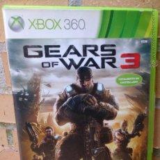 Videojuegos y Consolas: JUEGO XBOX 360, GEARS OF WAR 3. Lote 50391061