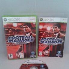 Videojuegos y Consolas: JUEGO MICROSOFT XBOX 360 FOOTBALL MANAGER 2008 COMPLETO PAL ESPAÑA CASTELLANO R2269. Lote 50610624