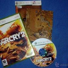 Videojuegos y Consolas: VIDEOJUEGO FARCRY 2 XBOX 360 UBISOFT VERSION ESPAÑOLA SEMINUEVO . Lote 50636740
