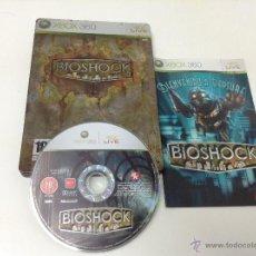 Videojuegos y Consolas: BIOSHOCK CAJA METALICA. Lote 51300504