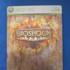 Videojuegos y Consolas: XBOX 360 - BIOSHOCK EDICIÓN LIMITADA CAJA METALICA - PAL ESPAÑA - COMPATIBLE CON XBOX ONE. Lote 51457061