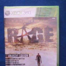 Videojuegos y Consolas: XBOX 360 RAGE ANARCHY EDITION - PAL ESPAÑA - NUEVO Y PRECINTADO - COMPATIBLE CON XBOX ONE. Lote 51457393