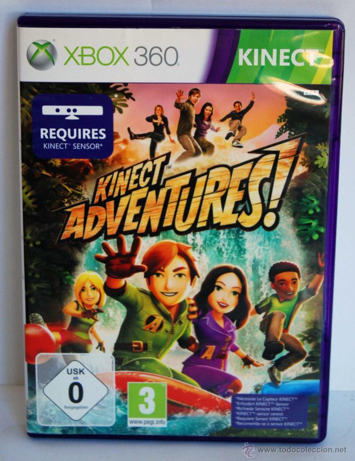 KINECT ADVENTURES! PARA XBOX 360 KINECT ADVENTURES (Juguetes - Videojuegos y Consolas - Microsoft - Xbox 360)