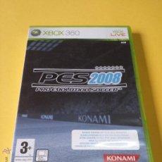 Videojuegos y Consolas: JUEGO PRO EVOLUTION SOCCER PES 2008 PARA XBOX 360. Lote 53314604