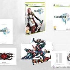 Videojuegos y Consolas: FINAL FANTASY XIII ED COLECCIONISTA XBOX 360 PAL ESPAÑA CASTELLANO FF 13. Lote 53849284