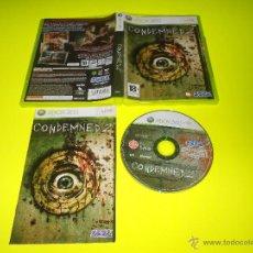 Videojuegos y Consolas: CONDEMNED 2 - XBOX 360 - PAL - SEGA - VOZ EN INGLES - TEXTO EN CASTELLANO. Lote 53912218