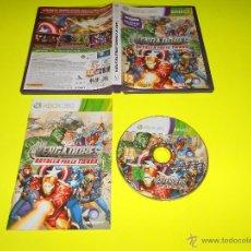 Videojuegos y Consolas: LOS VENGADORES ( BATALLA POR LA TIERRA ) - XBOX 360 - MARVEL - TOTALMENTE CASTELLANO - UBISOFT. Lote 54081607