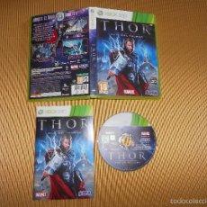 Videojuegos y Consolas: THOR DIOS DEL TRUENO - XBOX 360 - PAL - MARVEL - SEGA. Lote 158858549