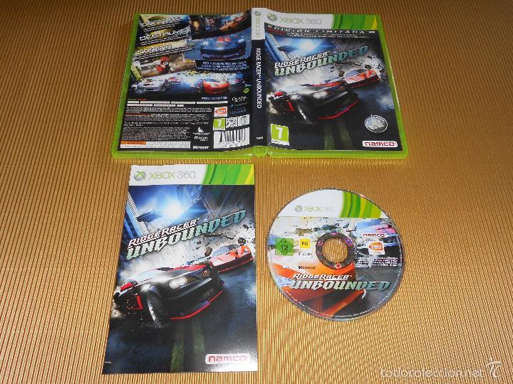 RIDGE RACER UNBOUNDED - XBOX 360 - PAL - EDICION LIMITADA - BANDAI NAMCO GAMES (Juguetes - Videojuegos y Consolas - Microsoft - Xbox 360)