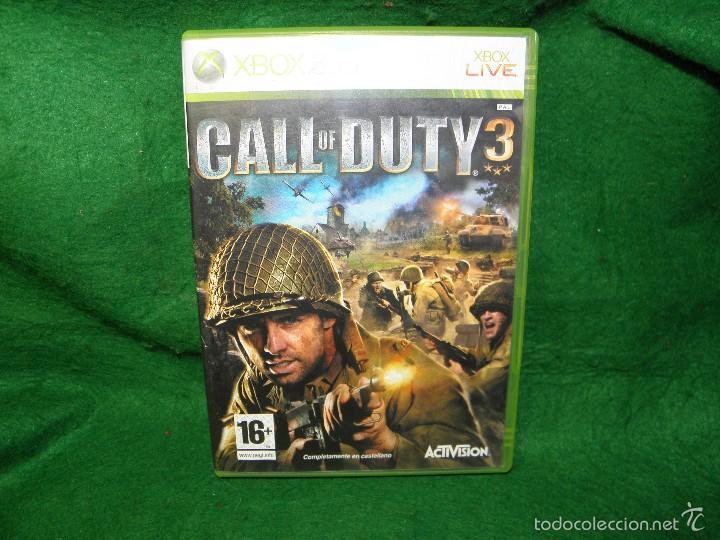 CALL OF DUTY 3 - XBOX 360 (Juguetes - Videojuegos y Consolas - Microsoft - Xbox 360)