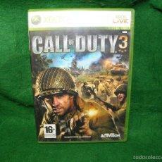 Videojuegos y Consolas: CALL OF DUTY 3 - XBOX 360 . Lote 56698672